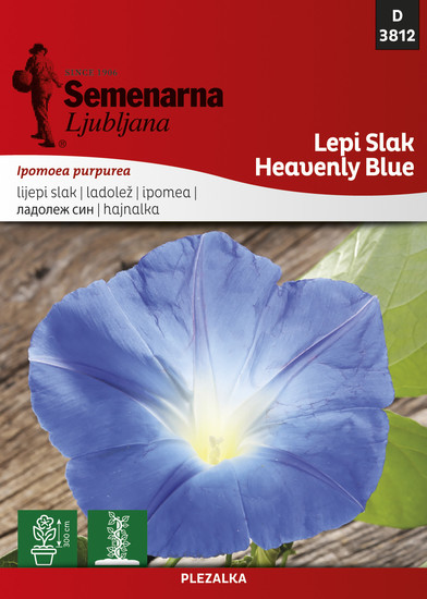 Lepi slak Heavenly Blue